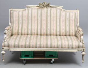 sf49 swedish gustavian antique sofa