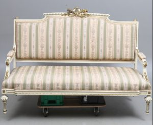 sf50 swedish gustavian antique sofa