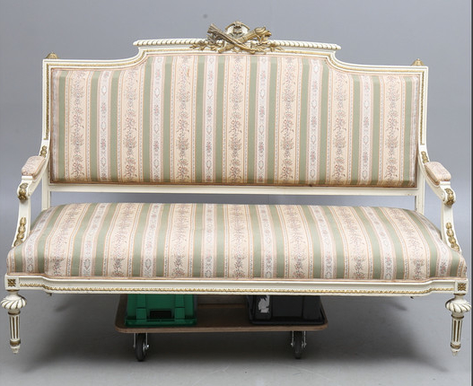 sf50 swedish gustavian antique sofa
