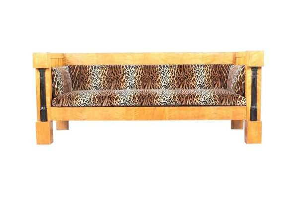 sf51 antique swedish biedermeier sofa