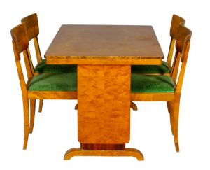 swedish art deco dining table