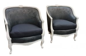 AR51 gustavian Armchairs antique
