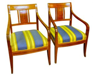 swedish biedermeier carver chairs 1800s square back marquetry