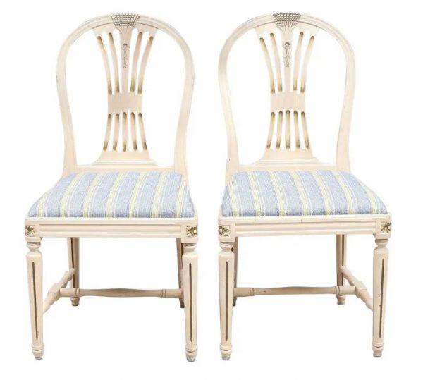 axet dining chairs gustavian set of 4