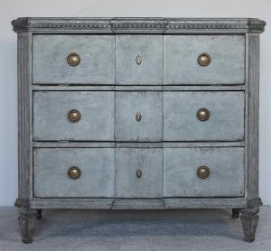 gustavian 1840 gustavian chest of drawers commode