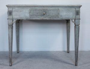 swedish antique gustavian 1860 table desk carved