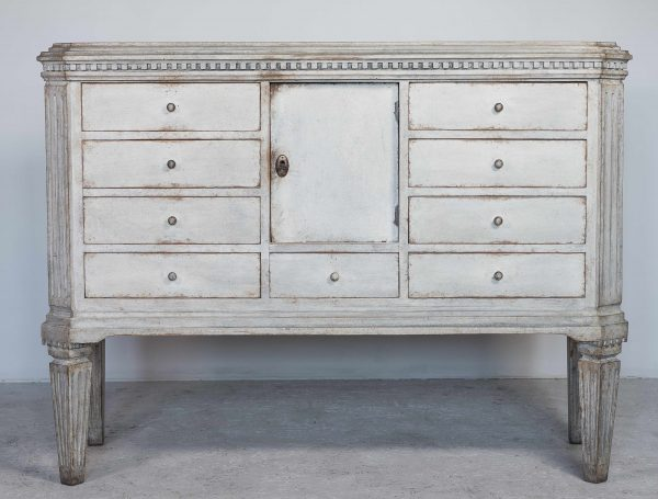 swedish antique gustavian 1840 gustavian chest of drawers commode