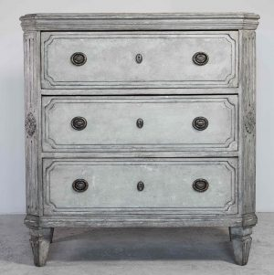 swedish antique gustavian 1840 gustavian chest of drawers commode 1860