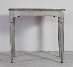 swedish antique gustavian 1890 table desk carved