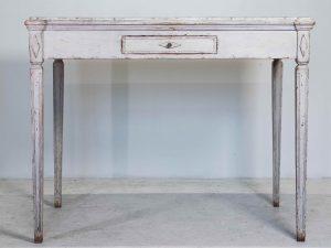 Antique Swedish gustavian drawers table 1830